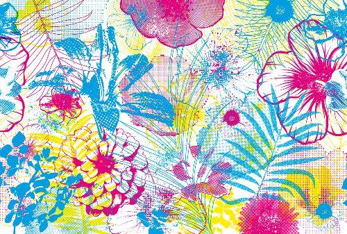 Bild: AP Digital - Flowers - SK Folie (3 x 2.5 m)