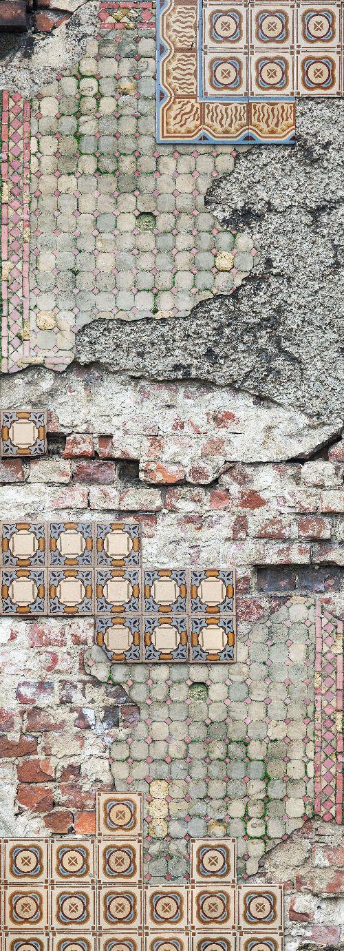 Bild: AP Panel - Vintage tiles, SK-Folie