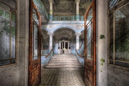 Bild: AP XXL2 - Vintage Villa Entr. - SK Folie (3 x 2.5 m)