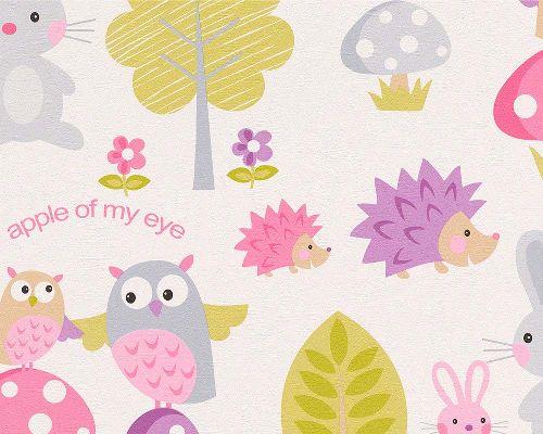 Bild: Boys and Girls 4 Papier-Tapete 935551 (Rosa)