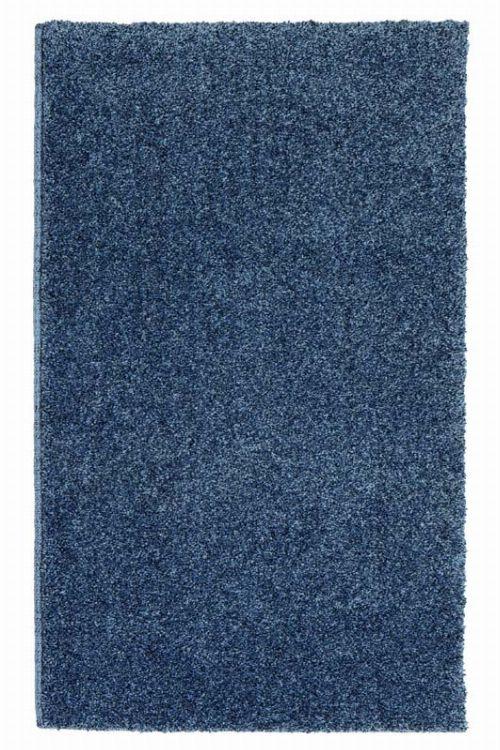 Bild: Kurzflor Teppich Samoa - Uni Design (Anthrazit; 140 x 200 cm)