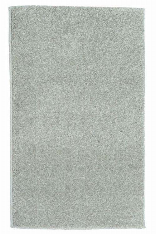 Bild: Kurzflor Teppich Samoa - Uni Design (Grau; 67 x 130 cm)