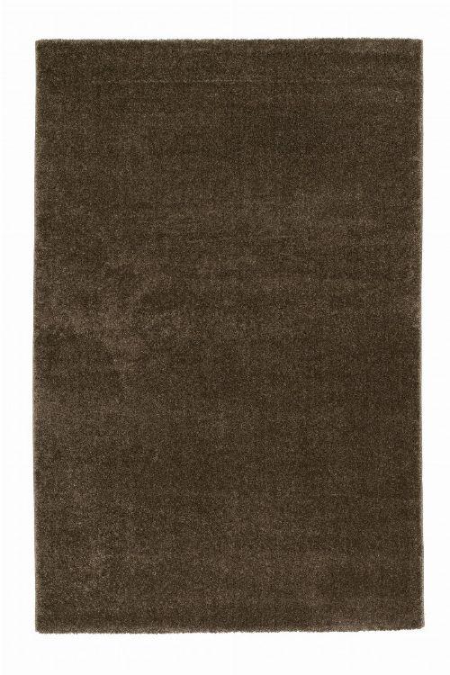 Bild: Astra Hochflor Teppich Ravello - Meliert (Braun; 130 x 67 cm)