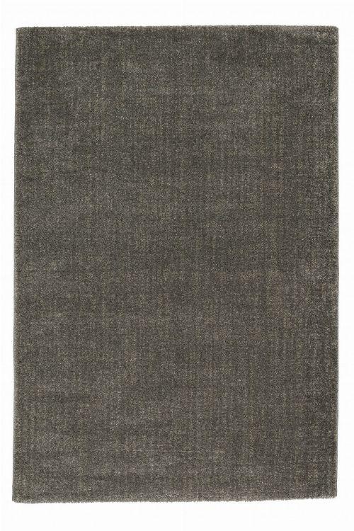 Bild: Astra Hochflor Teppich Ravello - Streifen (Grau; 150 x 80 cm)