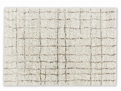Bild: Astra Hochflor Teppich Savona - Gitter (Creme; 230 x 160 cm)