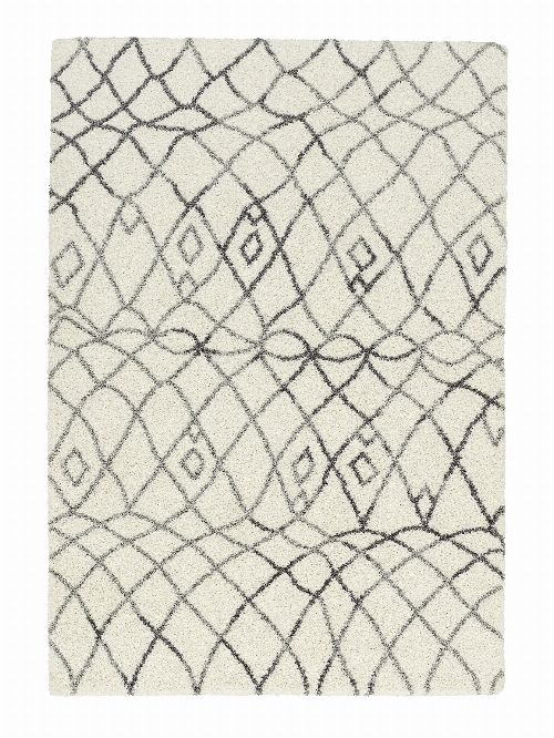 Bild: Astra Hochflor Teppich Rivoli - Marokko (Anthrazit; 230 x 160 cm)