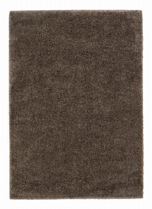 Bild: Astra Hochflor Teppich Rivoli - Uni (Braun; 150 x 80 cm)