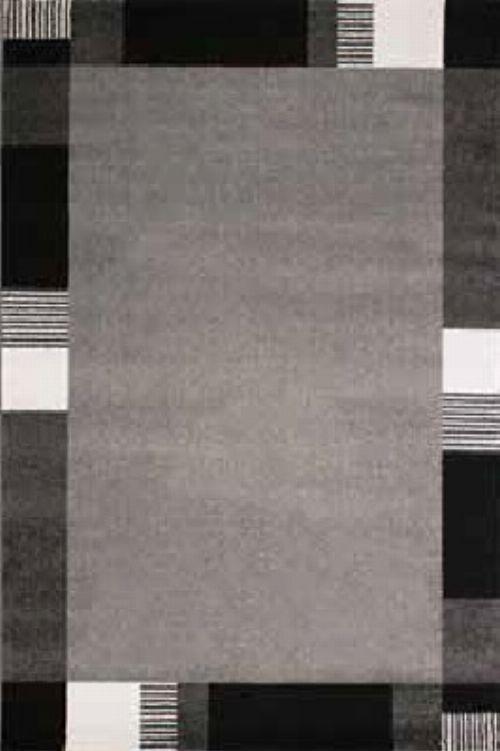 Bild: Bordürenteppich Pisa - Line - (Grau)