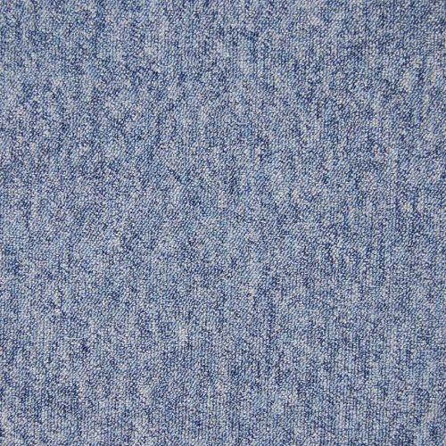 Bild: Melierte Teppichfliese Largo (Blau)