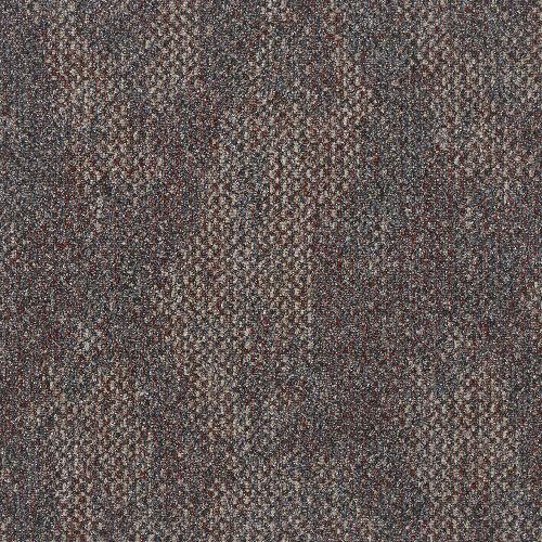 Bild: Quadratische Teppichfliese Quartz (Rot)