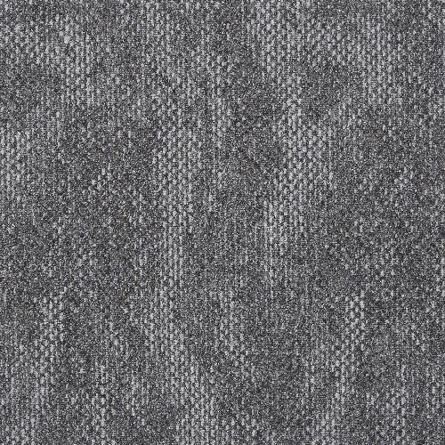 Bild: Quadratische Teppichfliese Quartz (Anthrazit)