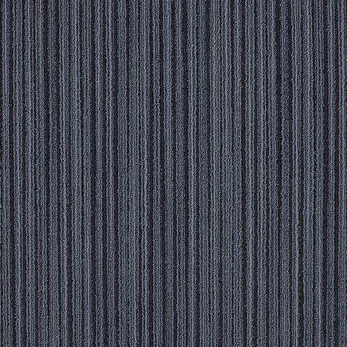 Bild: Schlingen Teppichfliese Lineations (Blau)