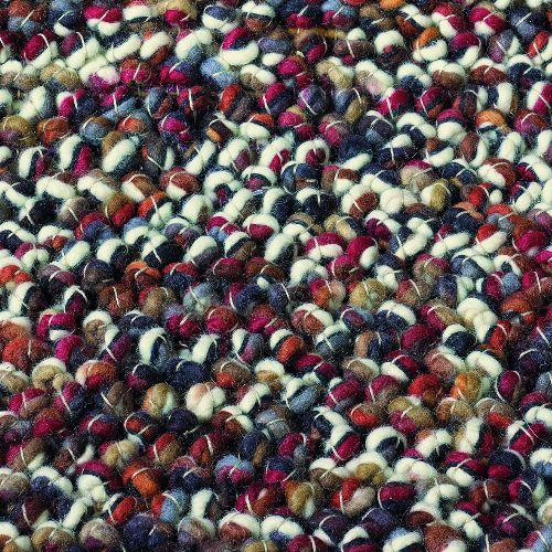 Bild: Teppich Marble (Rot; 250 x 350 cm)