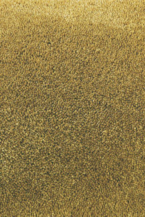 Bild: Designer Frisee Teppich Twinset Uni Cut (Khaki; wishsize)