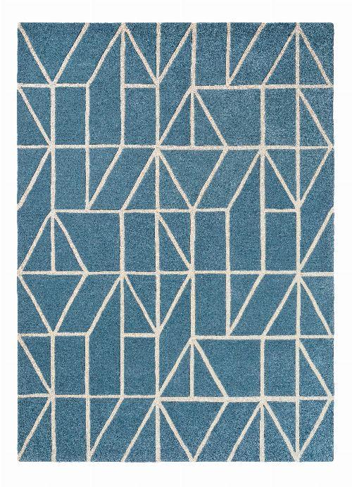 Bild: Scion Schurwollteppich Viso (Blau; 250 x 350 cm)