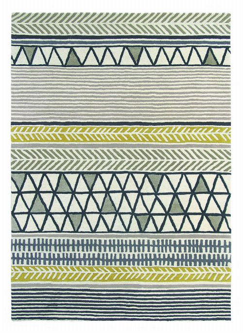 Bild: Teppich Raita (Taupe; 170 x 240 cm)