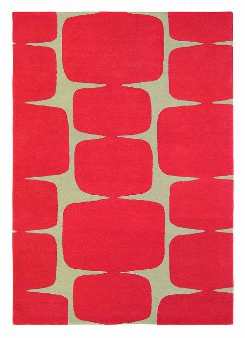 Bild: Teppich Lohko (Rot; wishsize)