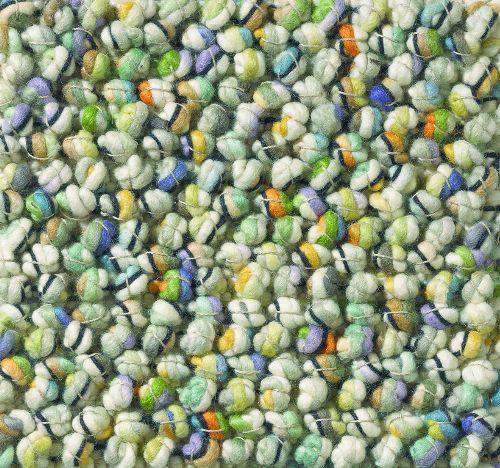 Bild: Teppich Marble (Grün-Mix; 140 x 200 cm)