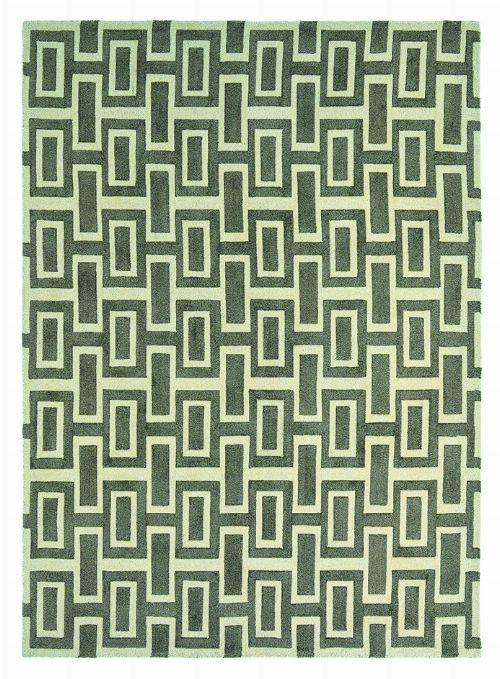 Bild: Retro Teppich Intaglio (Grau; 200 x 280 cm)