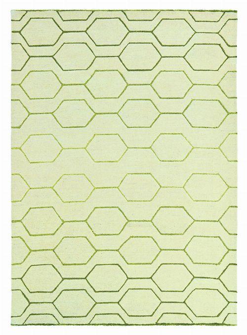 Bild: Retro Teppich Arris (Creme; 250 x 350 cm)