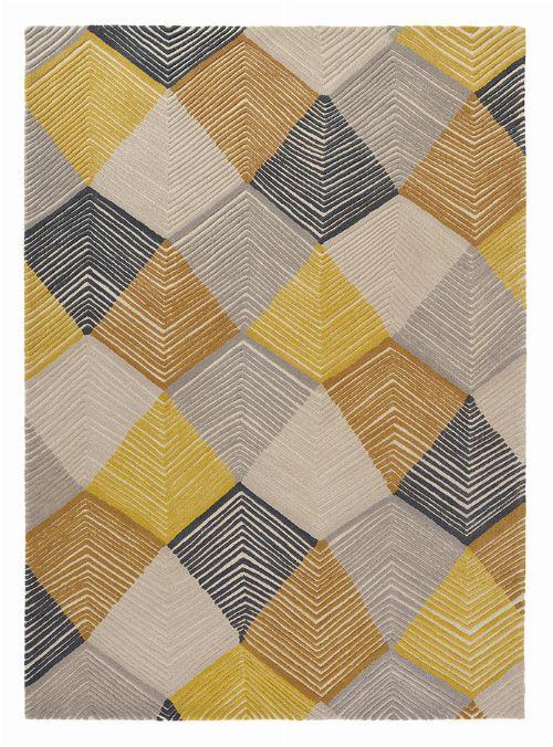 Bild: Harlequin Wollteppich Rhythm 40906 (Saffron; 200 x 280 cm)