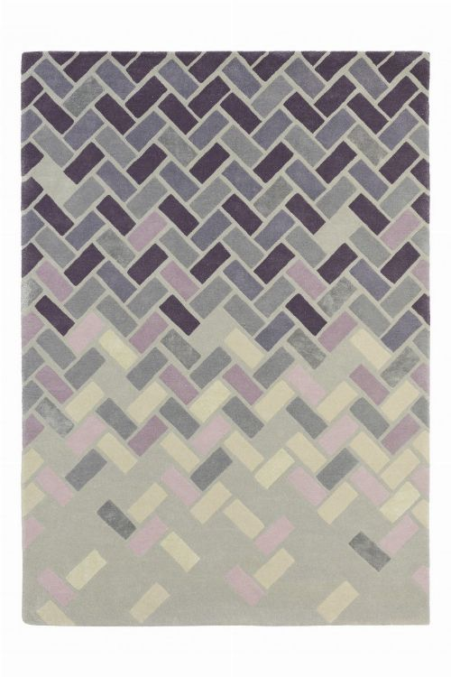 Bild: Design Teppich Ted Baker Agave (Grau; wishsize)