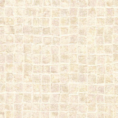 Bild: design id elegante Vliestapete Alpha AL1001-2 - Mosaikoptik (Beige/Creme)