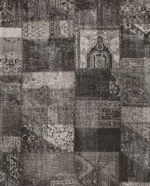 Bild: Eijffinger Vliestapete Masterpiece 358031 - Patchwork (Anthrazit)