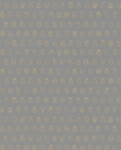 Bild: Eijffinger Tapete PIP 4 375037 - Lady Bug (Braun)