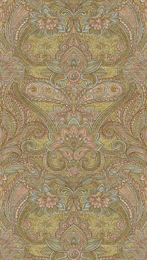 Bild: Eijffinger Tapeten Panel Sundari 375207 - Kashmir (Pastell)