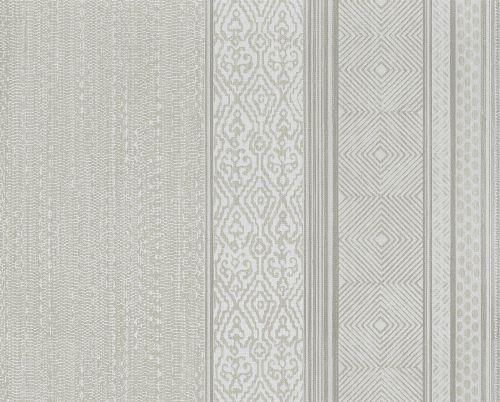 Bild: Eijffinger Vliestapete Siroc 376020 - Streifen (Silber)