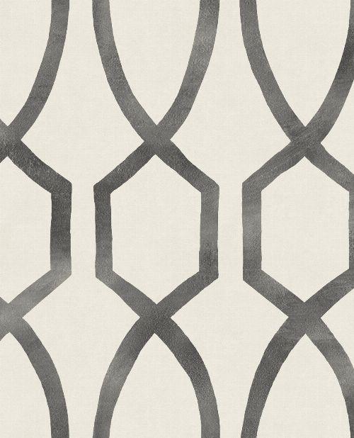 Bild: Eijffinger Mustertapete Stripes+ 377041 (Creme/Schwarz)