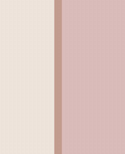 Bild: Eijffinger Vliestapete Stripes+ 377169 - Breite Streifen (Creme/Rosa)
