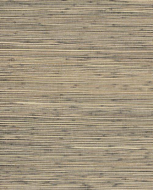 Bild: Eijffinger Tapete Natural Wallcoverings ll 389527 - Grasgewebe (Schwarz)
