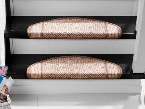 Bild: Stufenmatten - 3er Set - Country 5301 (Braun)