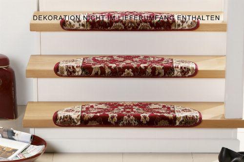 Bild: Stufenmatten - 3er Set - Opus 6974 (Rot)