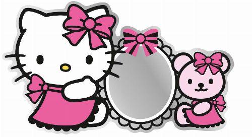 Bild: Kinder Wandsticker Hello Kitty 55260 (Bunt)