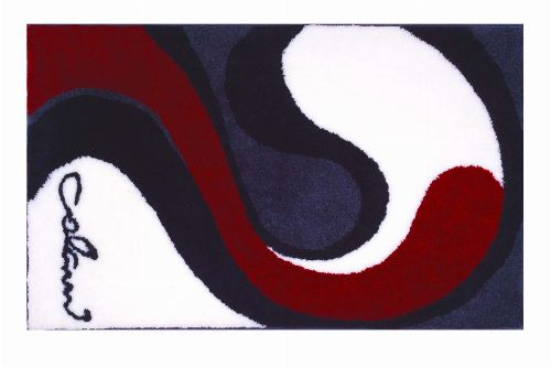 Bild: Badteppich COLANI 7B (Weiß; 60 x 60 cm)