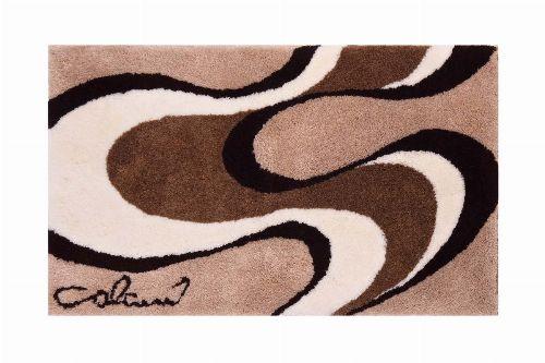 Bild: Badteppich COLANI 11 (Beige; 60 x 60 cm)