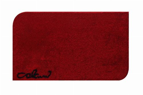 Bild: Badteppich COLANI 40 (Rot; 80 x 140 cm)