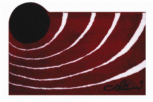 Bild: Badteppich COLANI 2 (Rot; 80 x 150 cm)