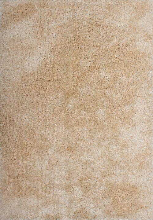 Bild: Hochflor Teppich Macas (Sand; 140 x 200 cm)