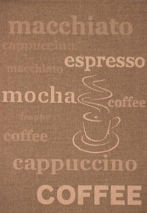 Bild: Küchenteppich Uppsala - Coffee - (Kaffee; 120 x 170 cm)