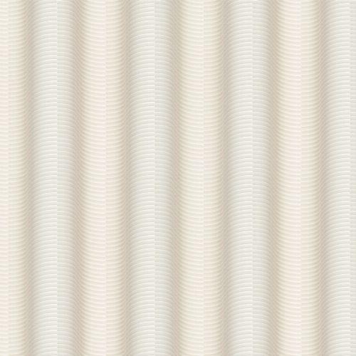 Bild: Colani Legend Tapete - versetzte Wellen (Vanille)