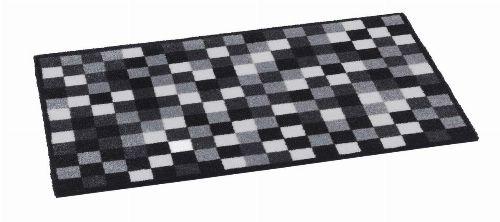 Bild: Schmutzfangmatte Pixel (Grau; 50 x 75 cm)