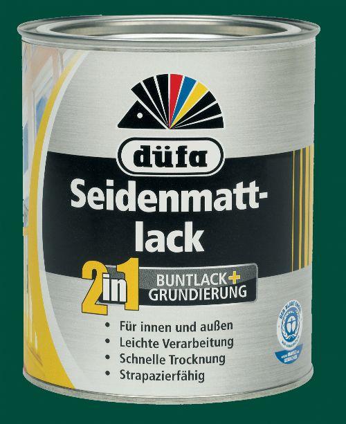 Bild: 2in1 Seidenmattlack (RAL 6005; 750 ml)