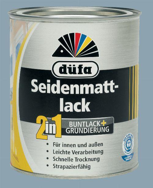Bild: 2in1 Seidenmattlack (RAL 7001; 375 ml)