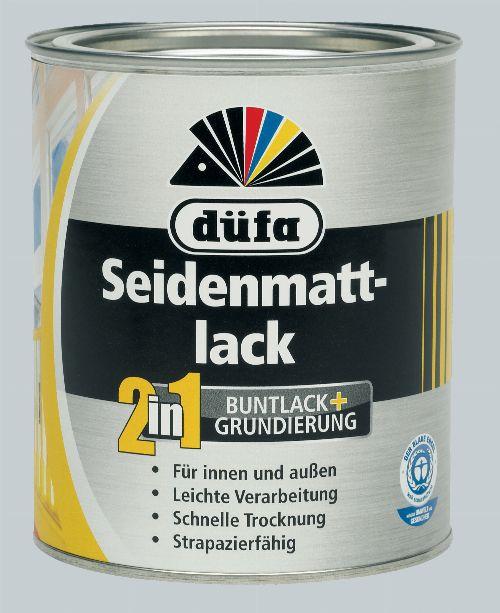 Bild: 2in1 Seidenmattlack (RAL 7035; 375 ml)