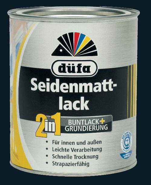 Bild: 2in1 Seidenmattlack (RAL 9005; 375 ml)
