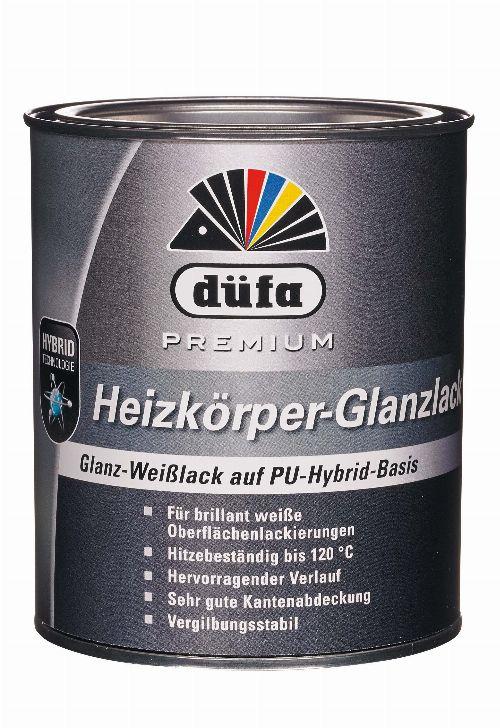 Bild: Premium Heizkörperlack glänzend (Weiß; 750 ml)